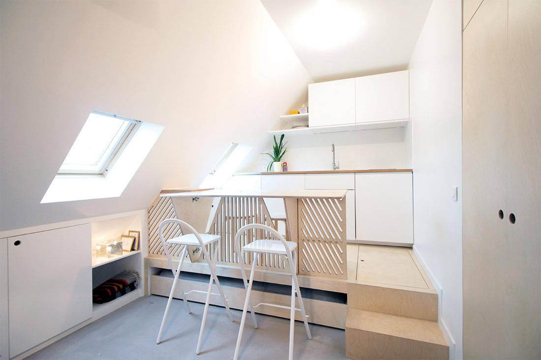 under 600 square feet Batiik Studio