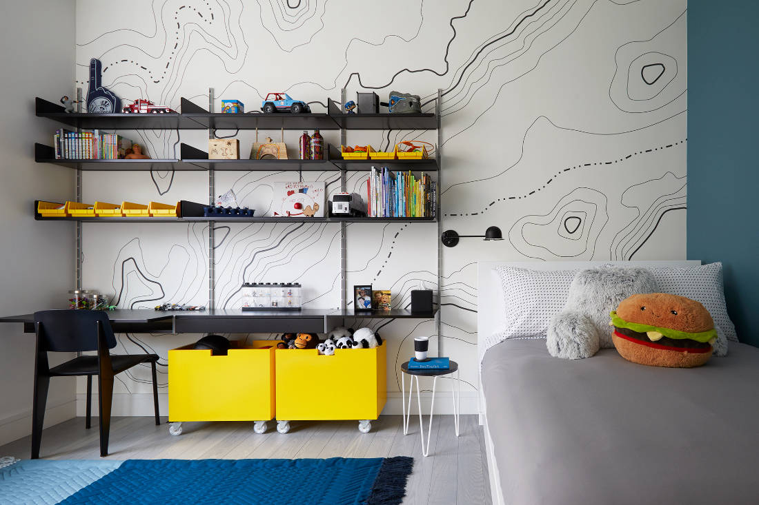 kid's bedroom design by Frederick Tang Architecture