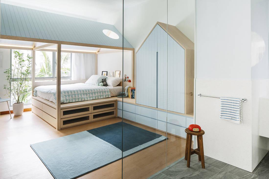 kid's bedroom design by MONOCOT