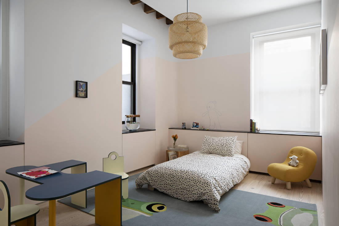 kid's bedroom design by Worrell Yeung and Colony