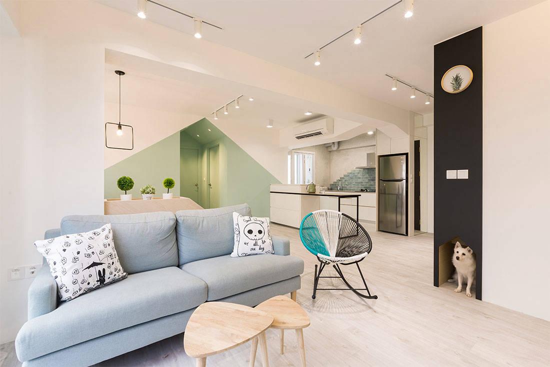 pet friendly interior design by Rooot Studio