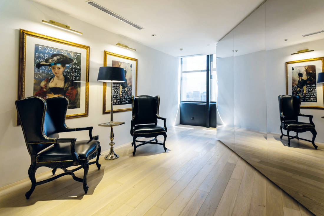 custom vs ready made furniture - design by Elliot James Interior