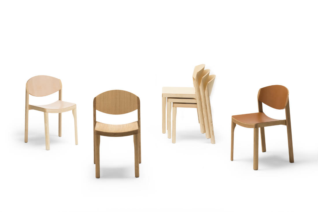 splurge on furniture for home renovation - Mauro chair by Established & Sons from Pomelo
