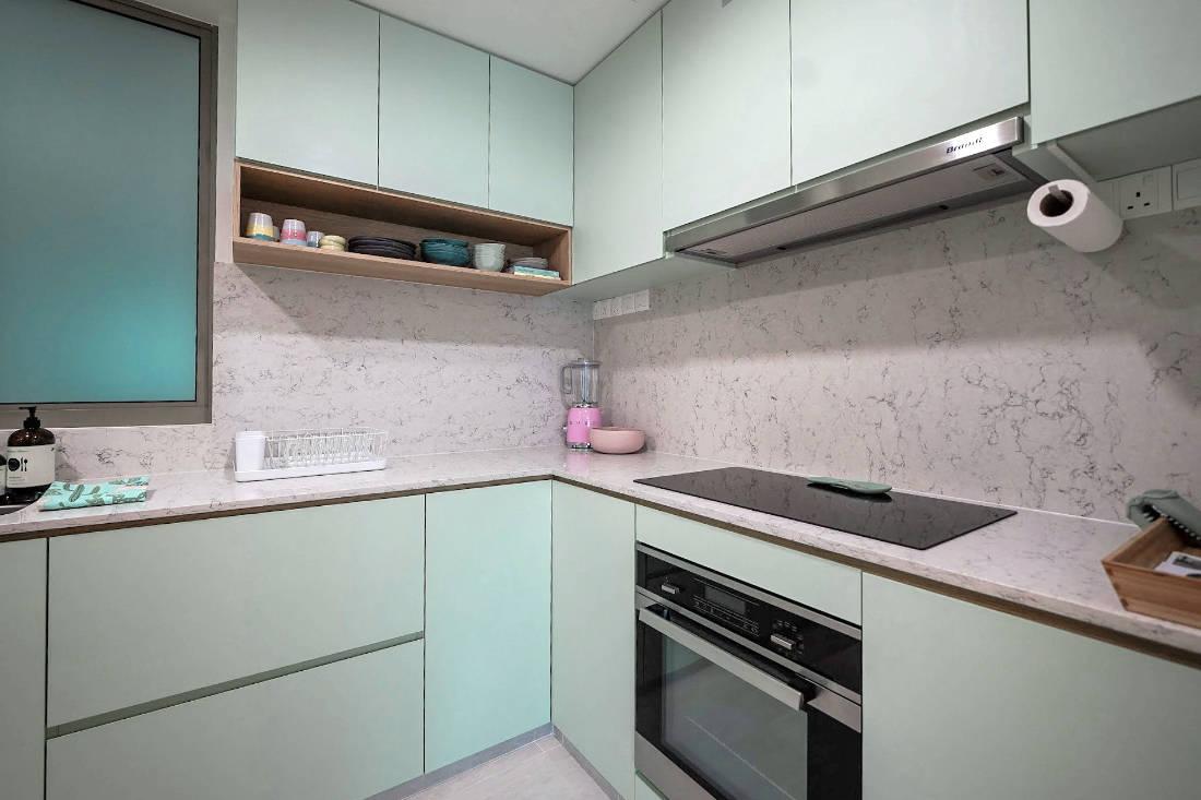bachelorette pad kitchen by SPIRE