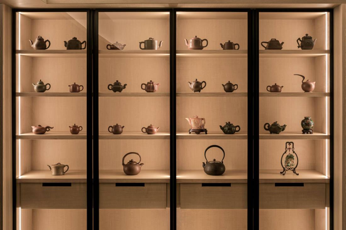 HDB flat designed for tea appreciation by Right Angle Studio