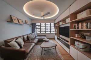 Beat the heat with KDK U48FP ceiling fan_ interior by Posh Living Interior Design
