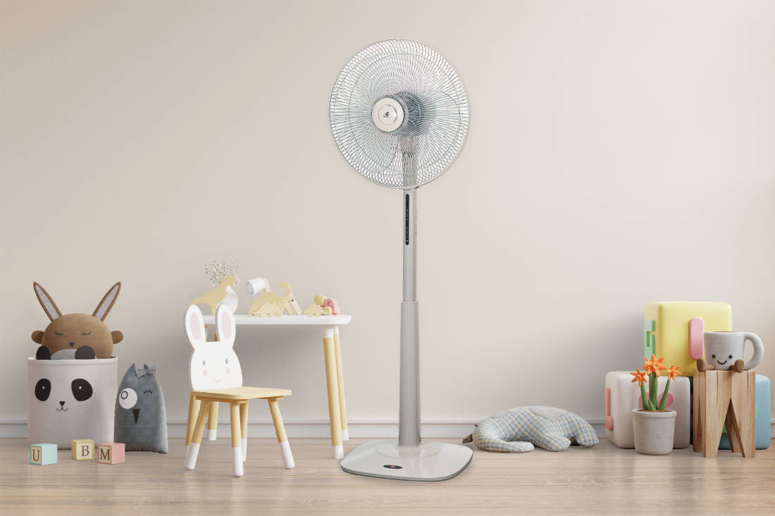 beat the heat with KDK N40HS fan
