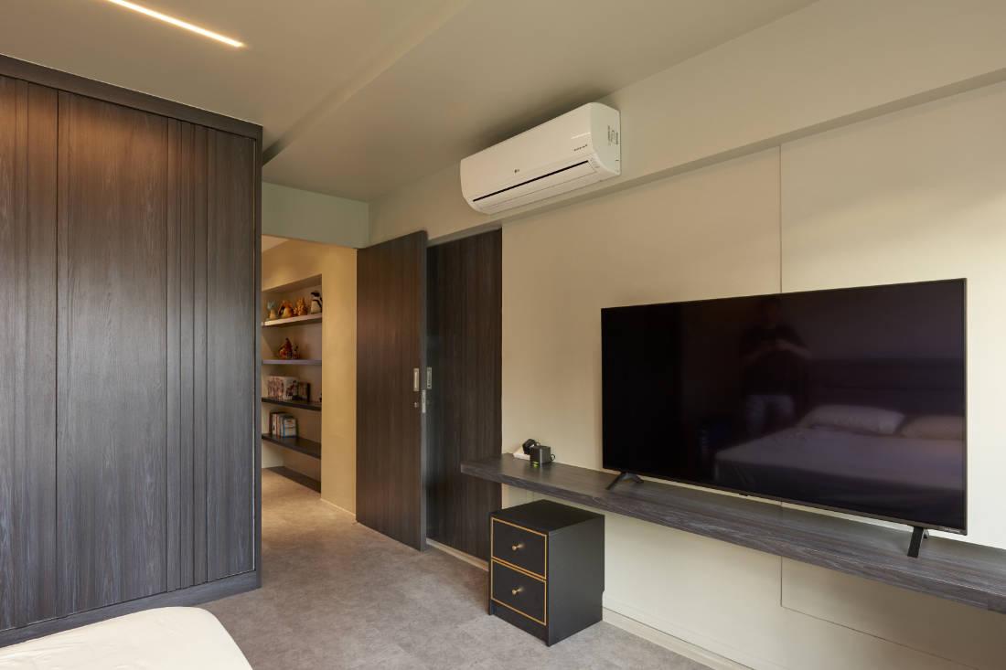 446 hougang ave 8 HDB maisonette bedroom designed by SPIRE