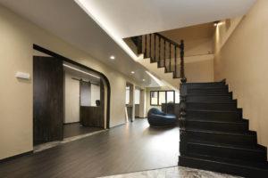 446 hougang ave 8 HDB maisonette entrance designed by SPIRE