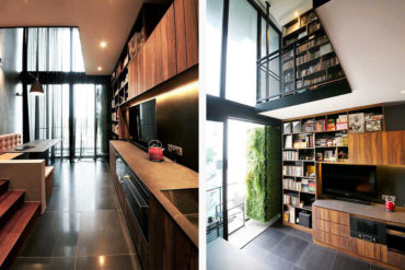 Living the good life in a 680-square-foot duplex condo
