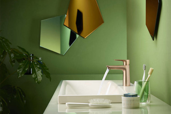 Find the faucet colour that speaks to your style and personality