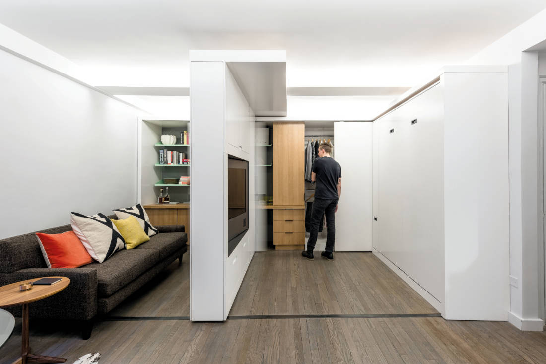 maximise space by MKCA