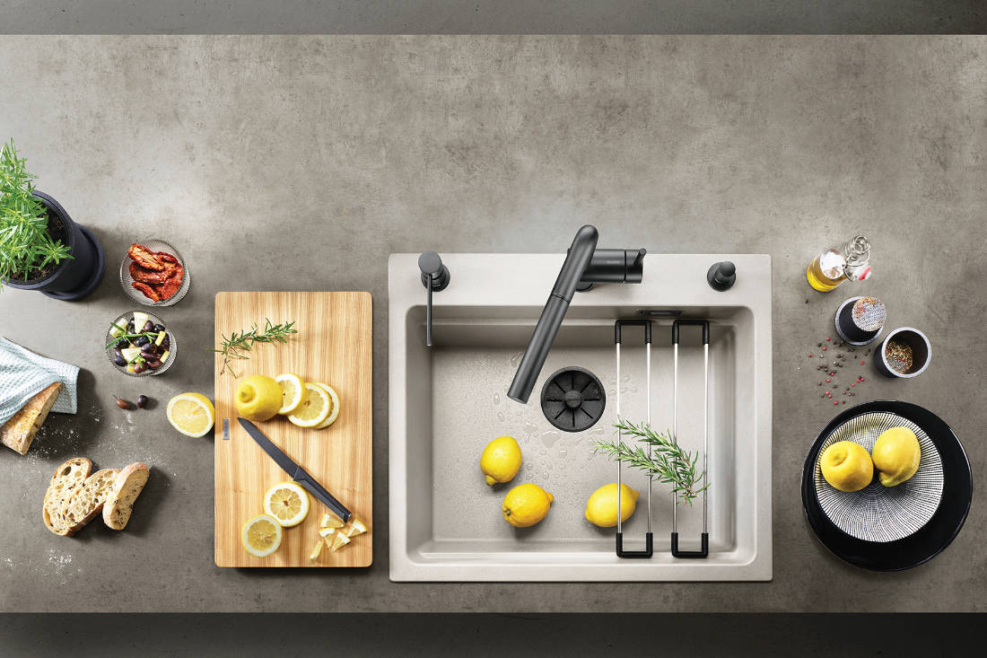 Lookbox Annual 2021 - Sink and tap from BLANCO