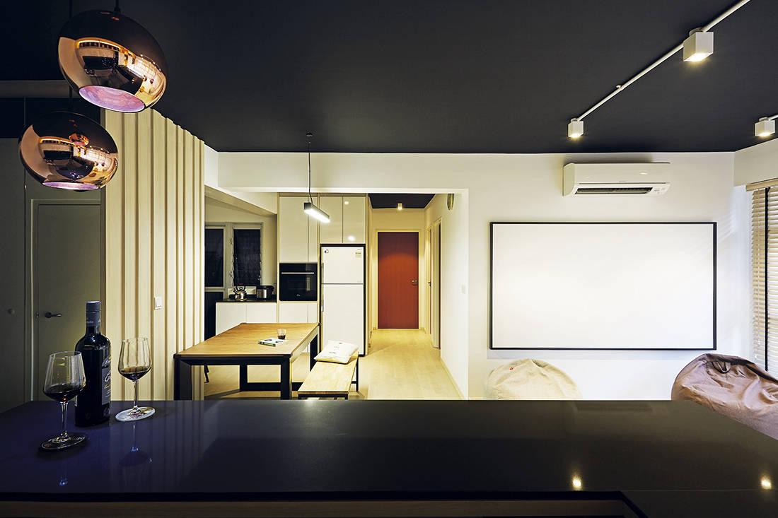 entertainment flat D5 Studio Image