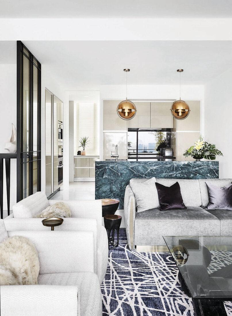modern luxury Elliot James Interior