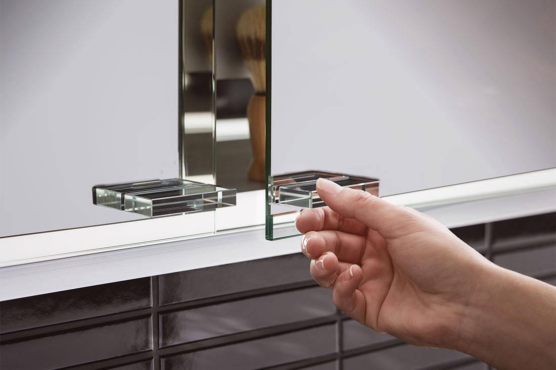 prestige 2 illuminated mirror cabinet