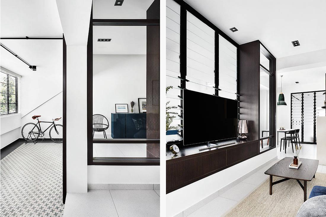walk-up apartments