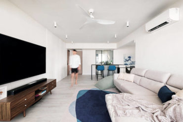 A modern home designed perfectly for live and work