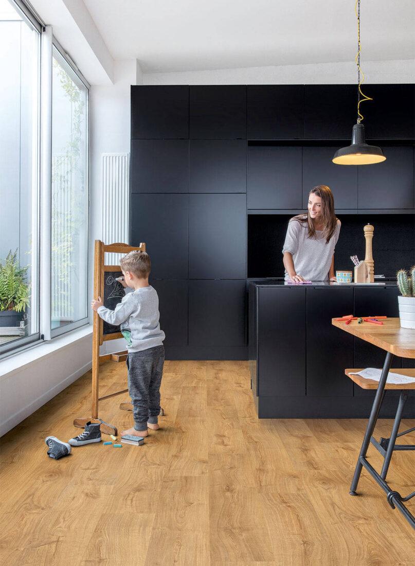 kid-friendly home flooring