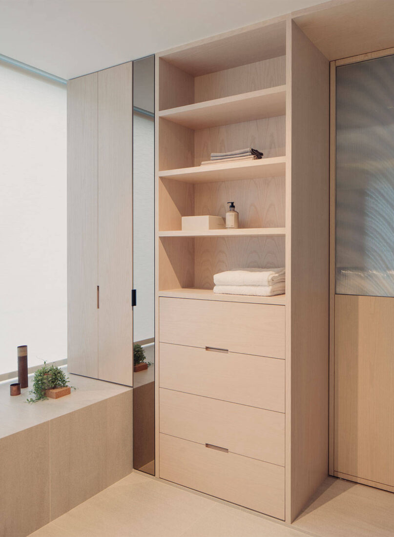 minimalist apartment Antimatter