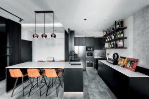 monochrome penthouse Third Avenue Studio