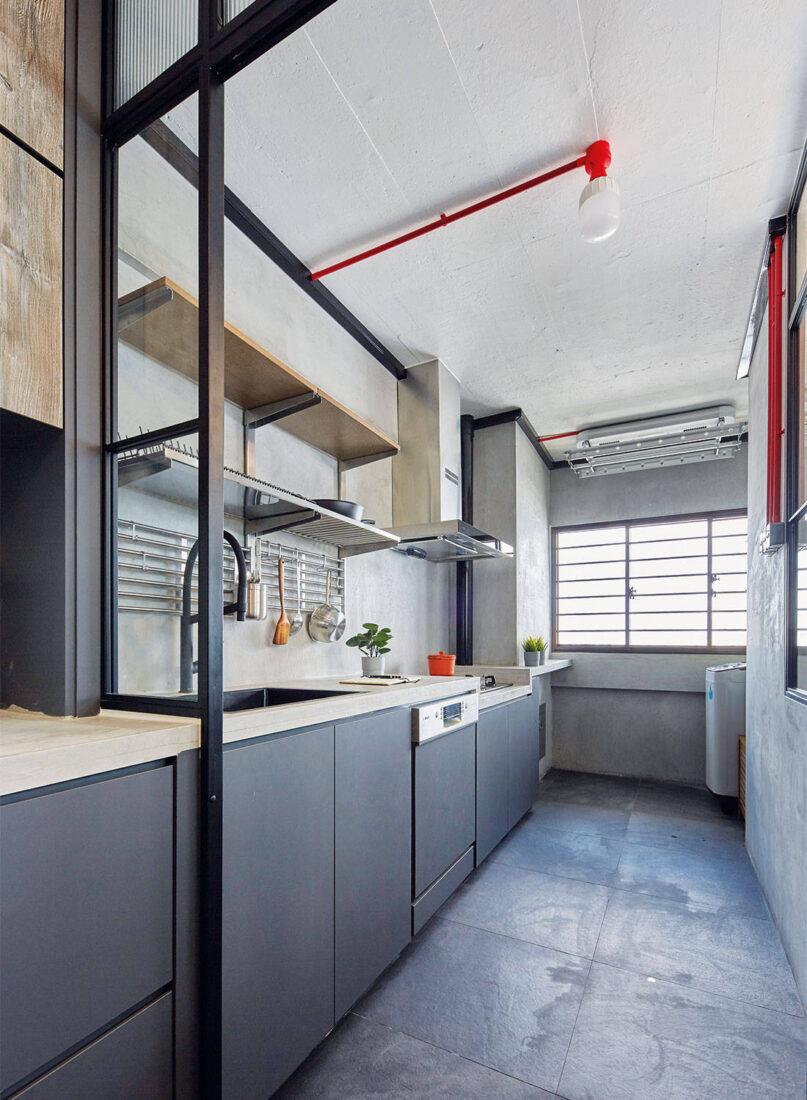 industrial MET Interior