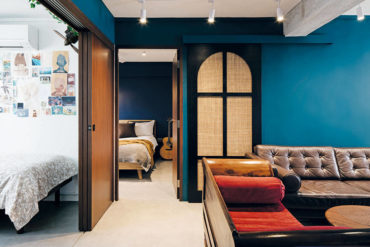 A bold and eclectic family abode with loads of personality