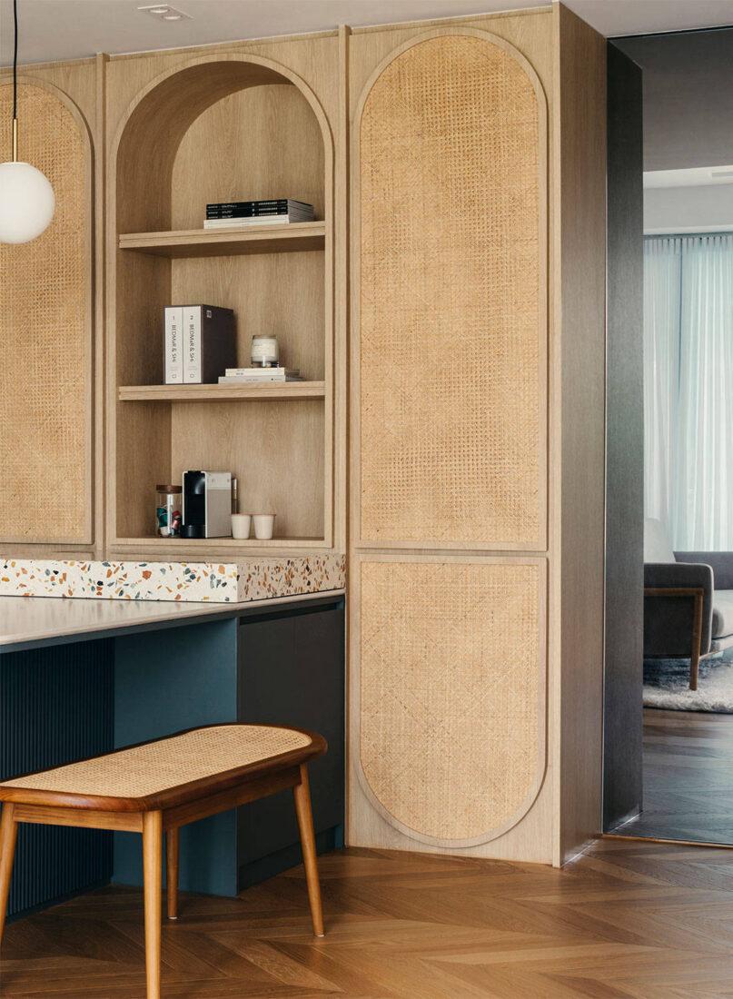 three-bedroom apartment HEI Architects