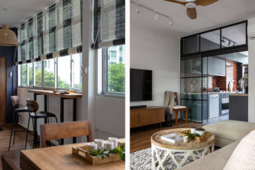 Laid-back living in an HDB walk-up that celebrates the vintage