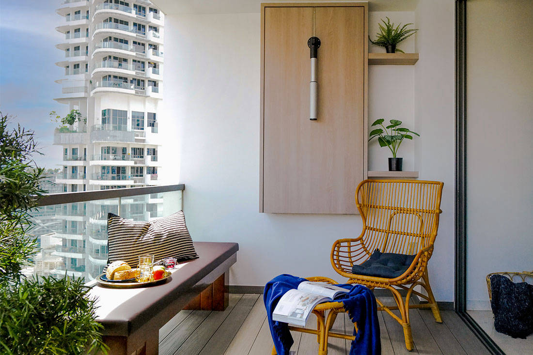 small home balcony