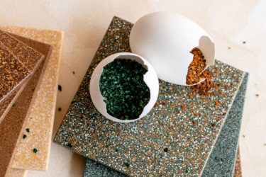 Latest innovation: Sustainable tiles made from recycled eggshells