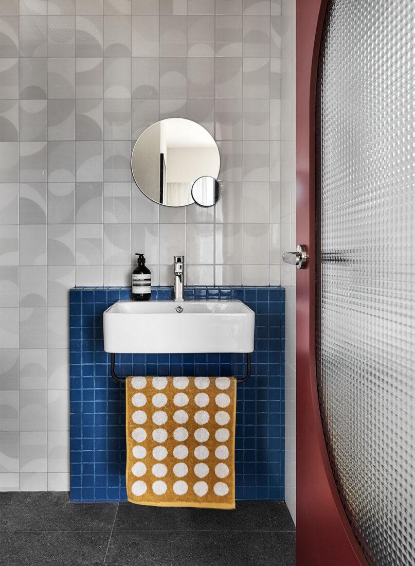 colourful flat Happe Design Atelier