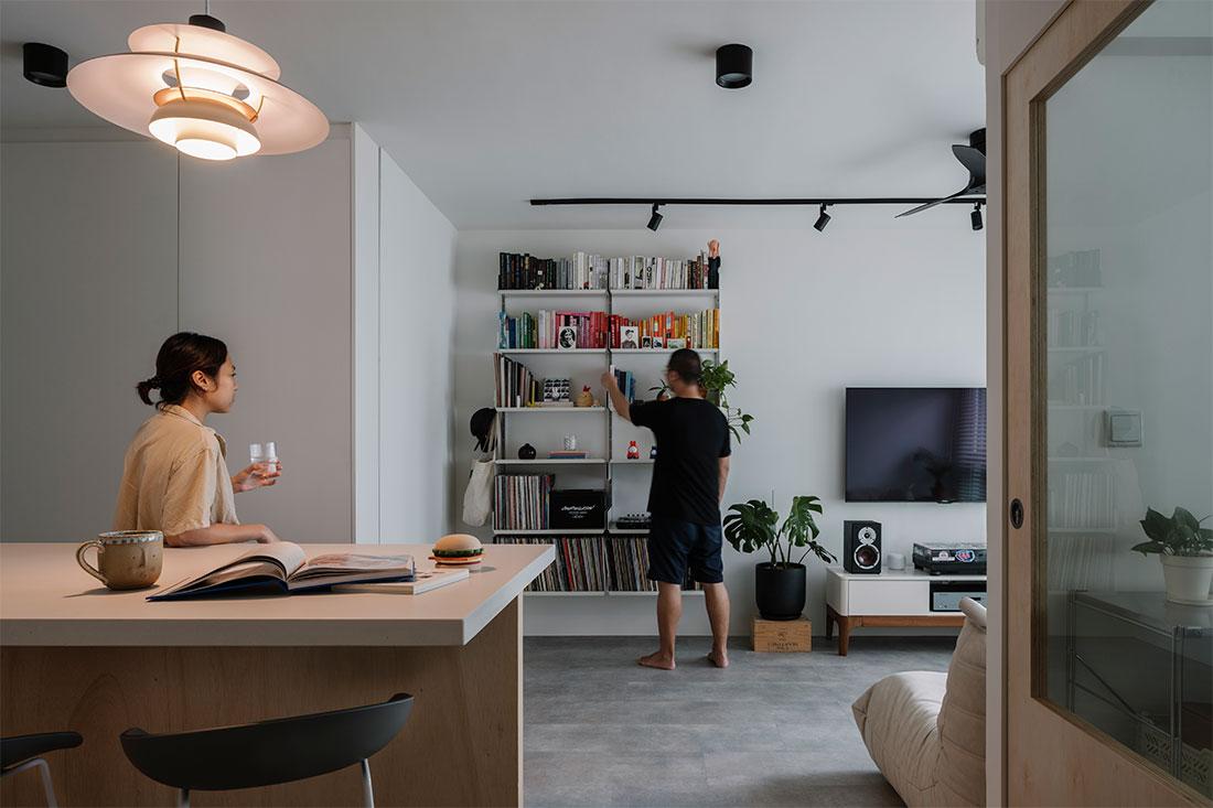 home office 3-room HDB flat WAFF