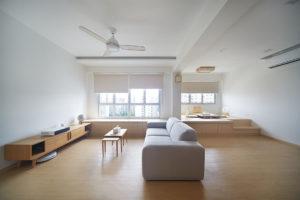 Japanese-inspired minimalist flat D5 Studio Image