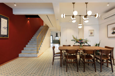 An inimitable walk-up apartment that honours heritage