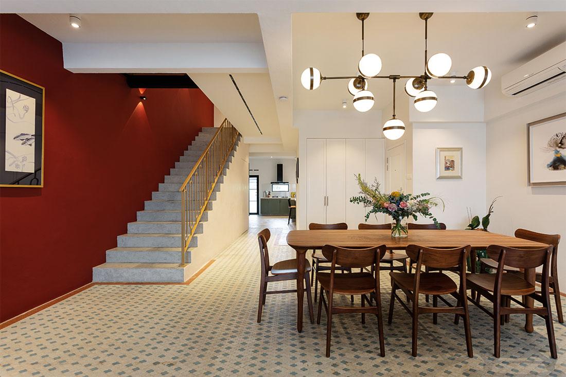 heritage walk-up duplex D' Initial Concept
