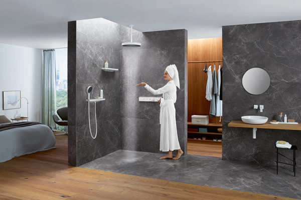 Rainfinity from hansgrohe will transform your shower experience