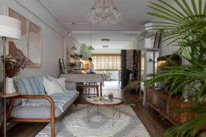 A home made for boho living, hobbies and work