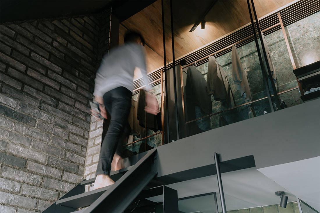 484-square-foot penthouse Konmari Studio