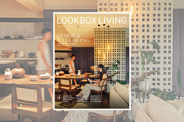 See what's inside the latest Lookbox Living Design and Well-Being issue!