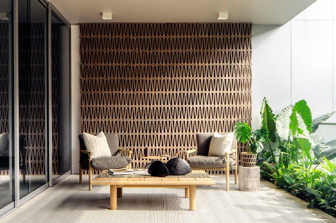 modern luxury green onyx Brewin Design Office apartment project