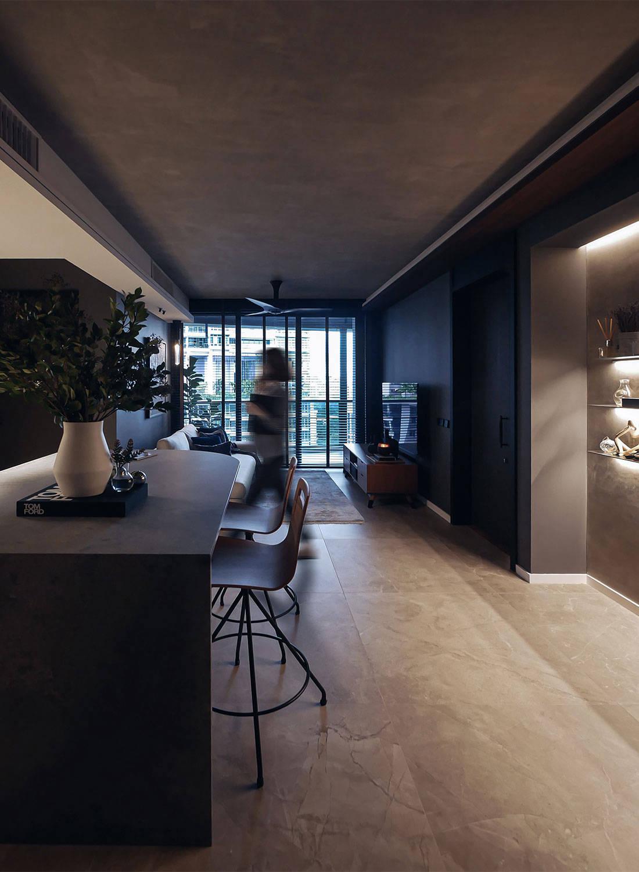 oncrete apartment Subtlesato Studio