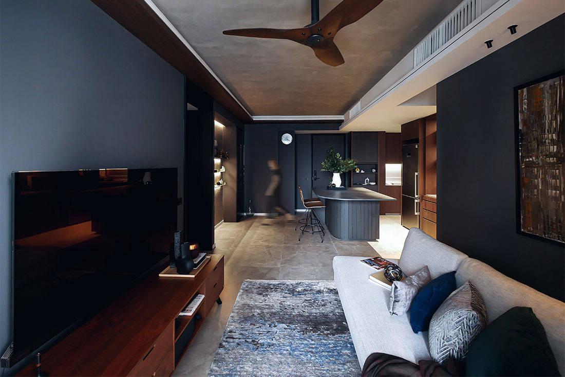 concrete apartment Subtlesato Studio