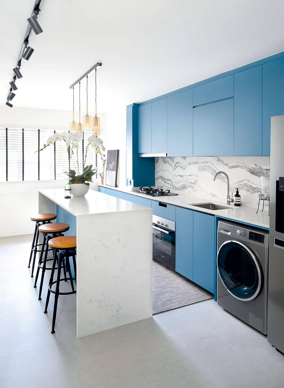 three-room flat Sync Interior