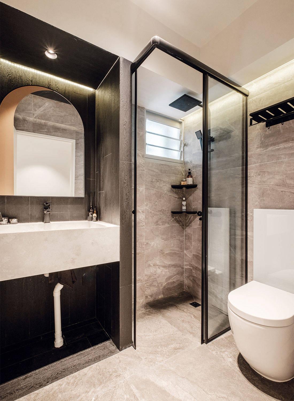bathroom five room flat HOFT