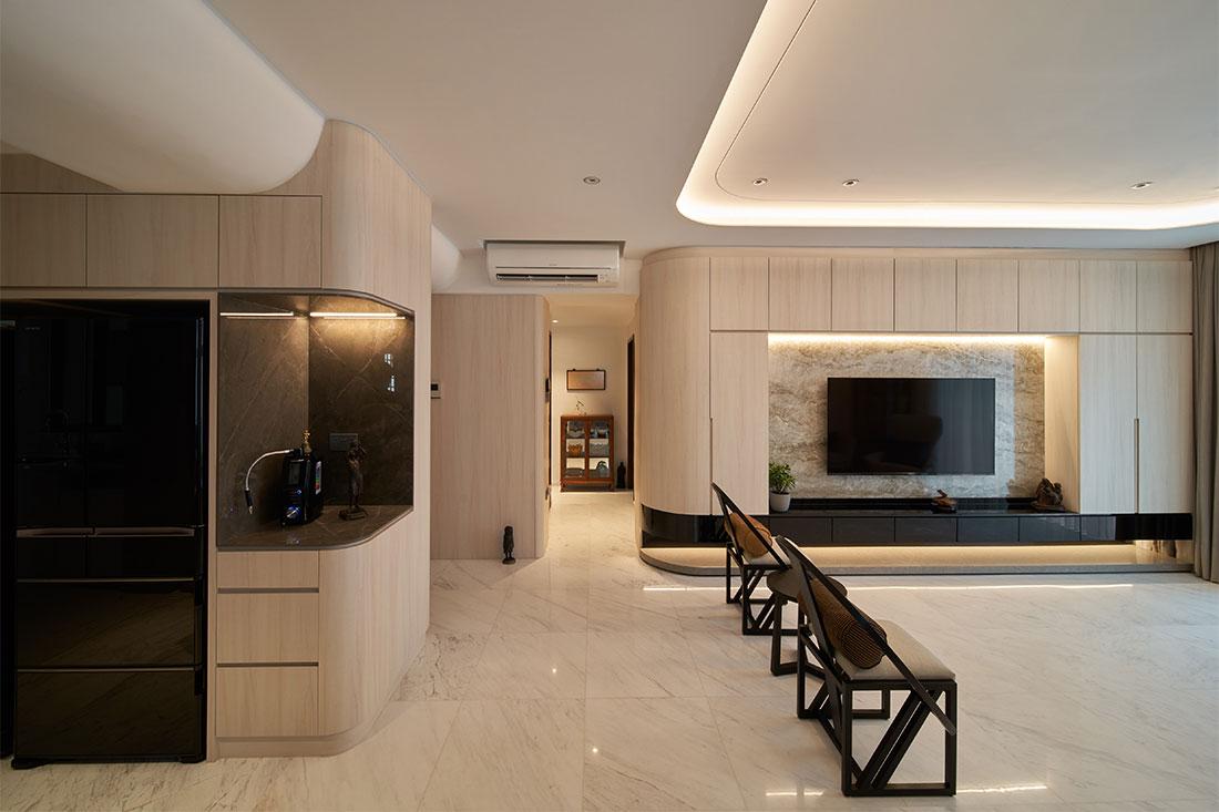 4-room condo Create Architecture project