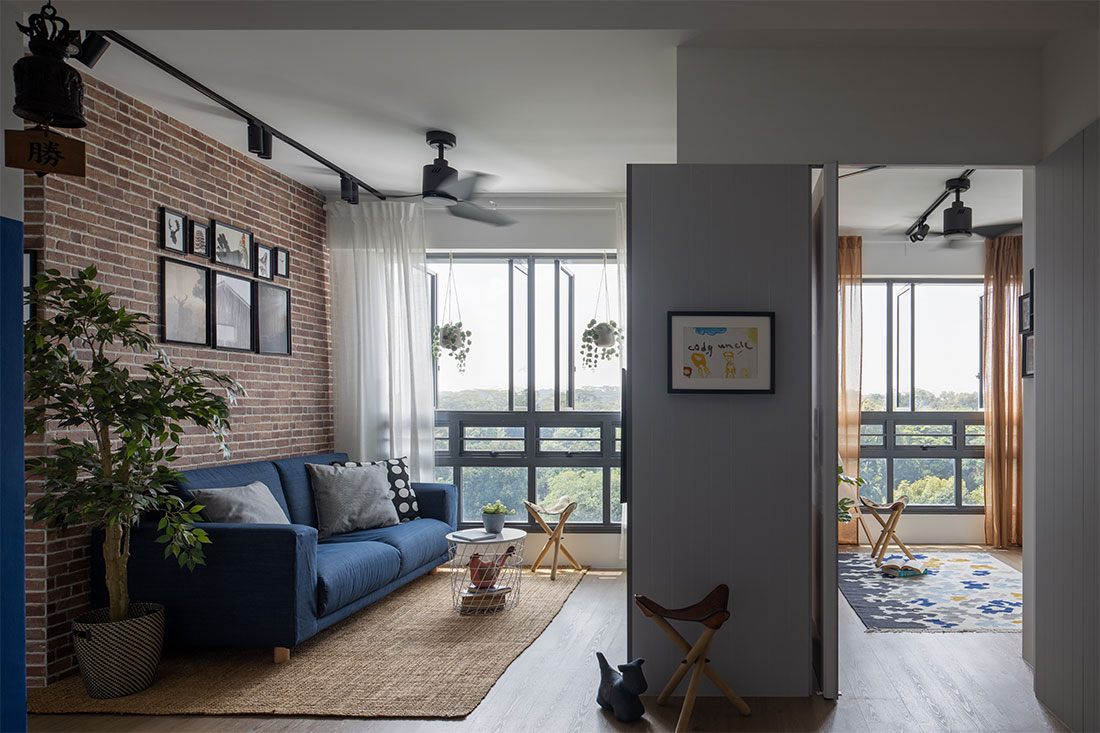 multifunctional 3-room BTO project by D' Marvel Scale