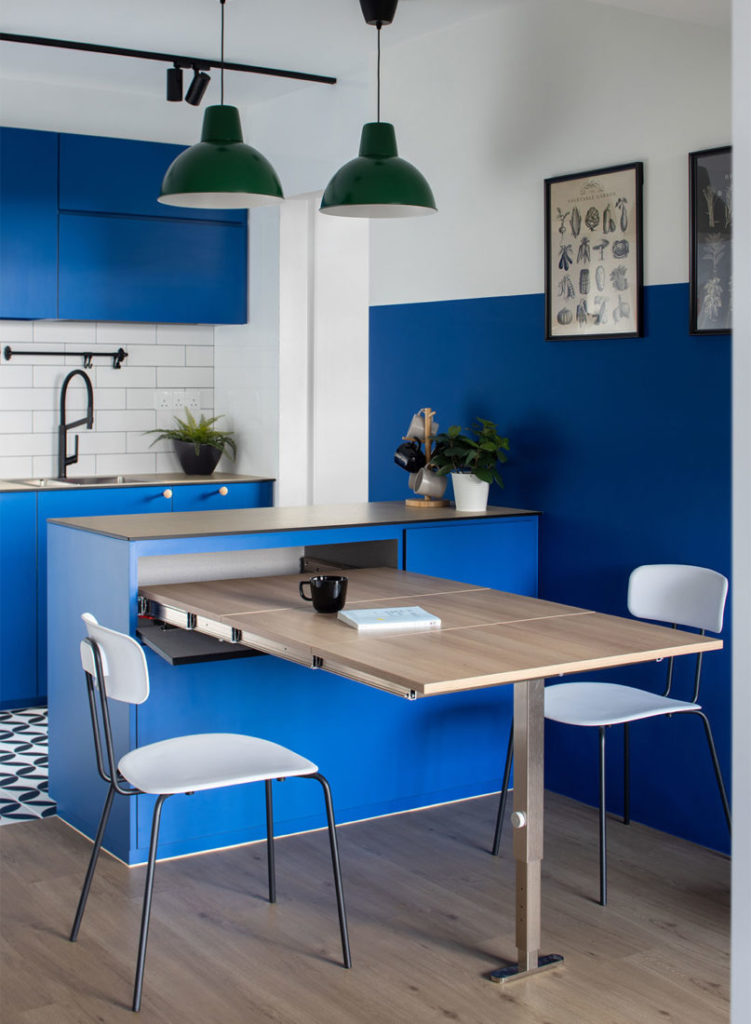 kitchen 3-room BTO project by D' Marvel Scale