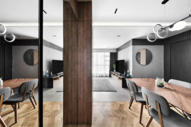 A dynamic yet cosy modern resort home