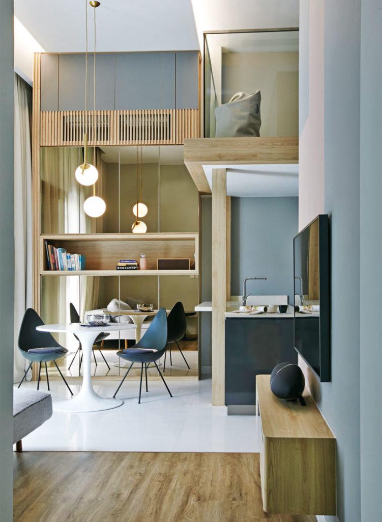 shoebox apartment project by Design of Schatz